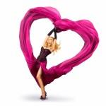 Inspiring pink heart